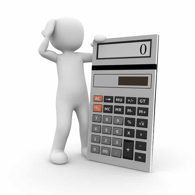 calculator pret